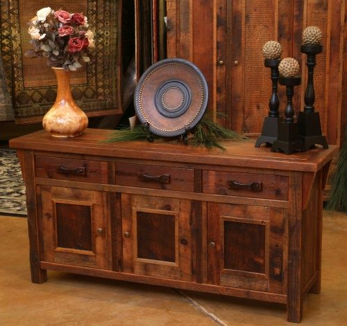 Gorgeous Pieces of Furniture. Antique Barn Wood Furniture, Barnwood Furnishings, Reclaimed Timber, Rustic Wood Tables
