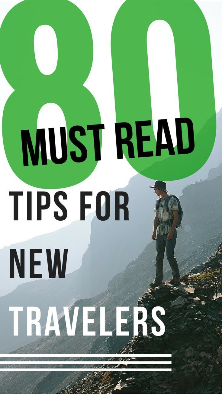 """80 Must Read Tips for New Travelers. 19. Don't book domestic flights at the same time you get your international flights. 26. Understand you never have time to see EVERYTHING. And be okay with it.  42. Carry a """"dummy"""" wallet with some expired credit and bank cards. Hand that over if you get robbed. Discover the world at MatadorNetwork.com"""