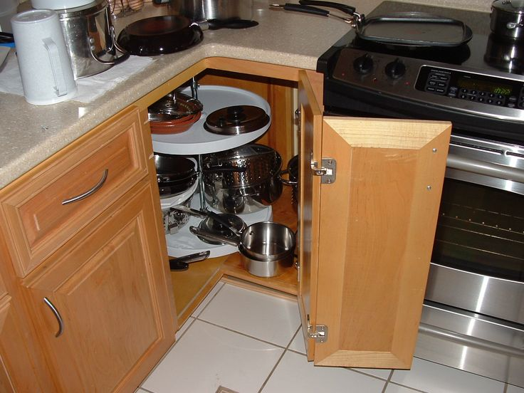 kitchen cabinets lazy susan for the inside corners of your kitchen base