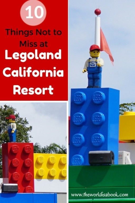 Guide and tips for visiting Legoland California Resort with kids | See the 10 things not to miss here! | San Diego with kids | California with kids: