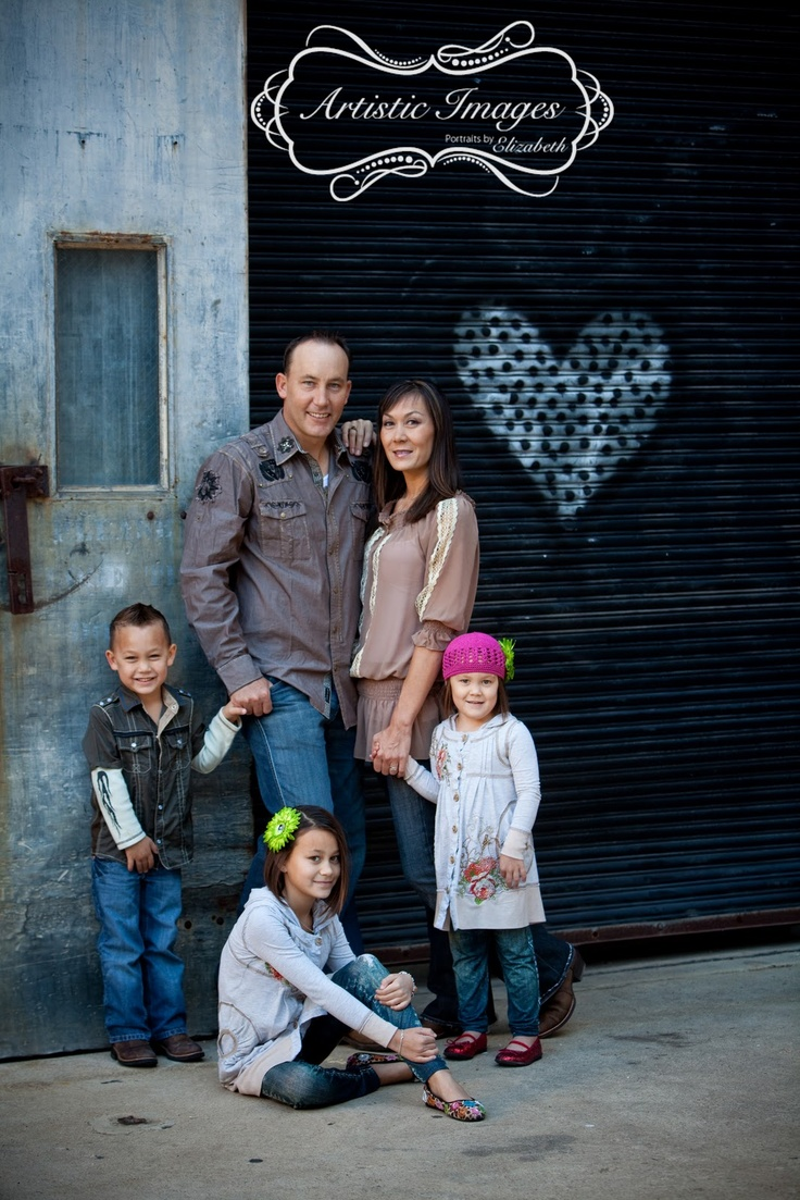 urban chic family san antonio family portrait