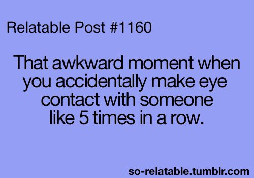 So Relatable! Happened once..hehe.