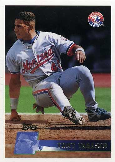 Tony Tarasco - Montreal Expos - 1996 Topps www.tradingcarddb.com