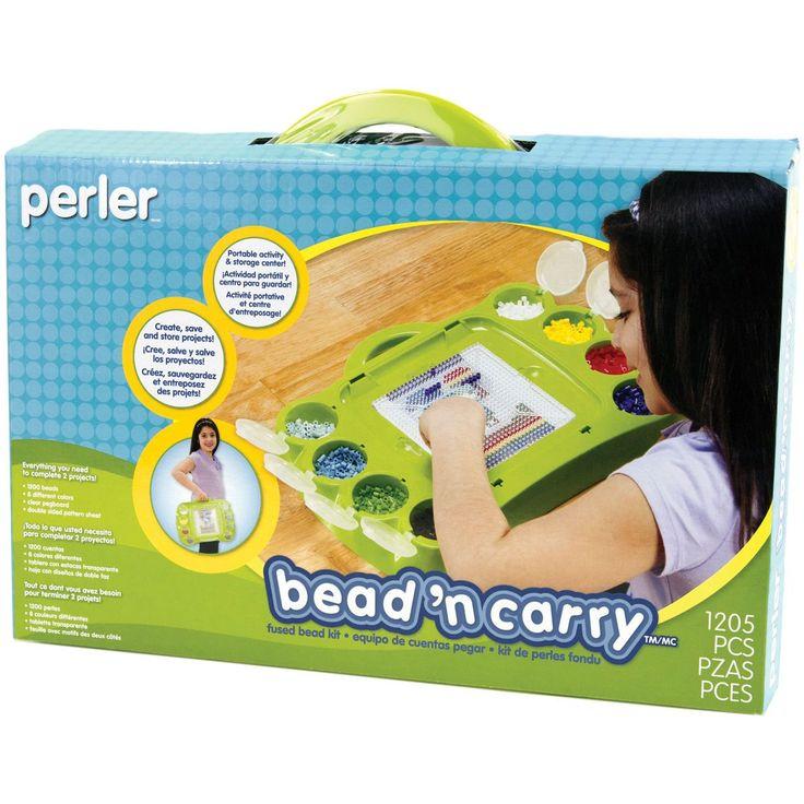 Perler Bead 'n Carry Fun Fusion Fuse Bead Kit