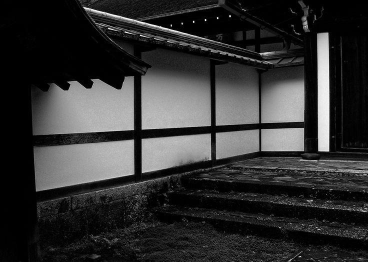 "...spacerkiem po Ryōan-ji - ...Ryoanji Temple (Kyoto) - ""Wabi-sabi"" series"