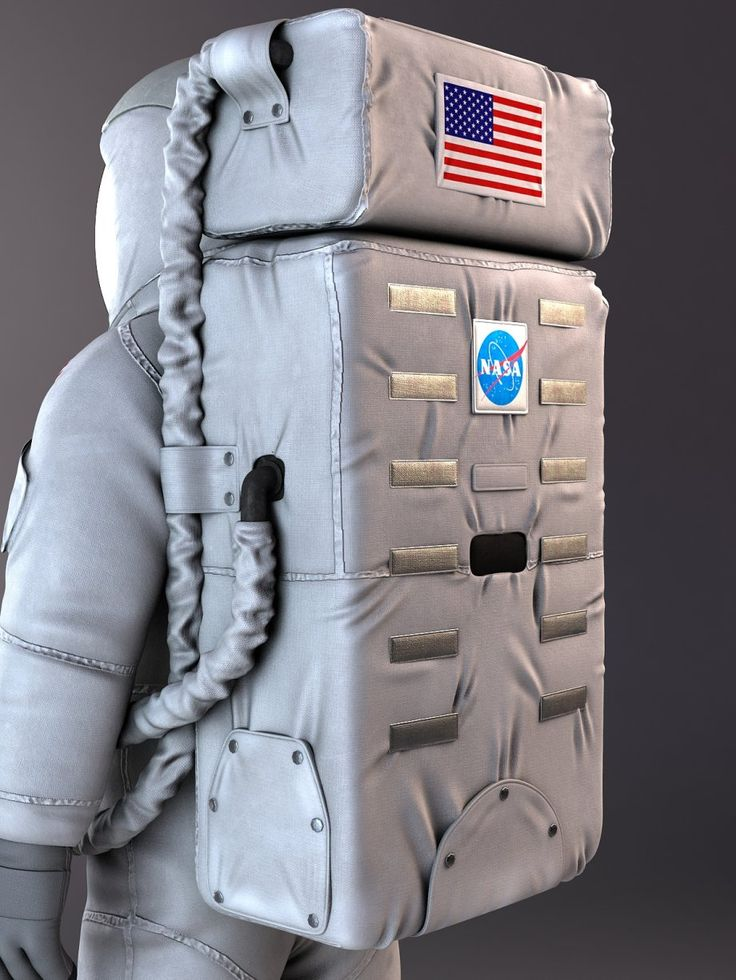 """NASA Astronaut On The Moon"" scene 3d model - CGStudio"