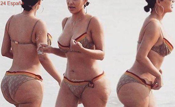 Se filtran unas fotos de Kim Kardashian en bikini sin Photoshop