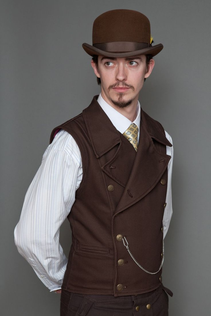 Lastwear Clothing Co S Pinkerton Vest In Brown Weird