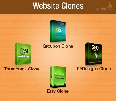 Website clone scripts are a cost-effective and business friendly solutions to launch a website in a short span of time. Lets see the advantages of Website clone scripts    1. Saves your time, money and resource to develop, design and code the website  2. It has inbuilt features to launch a real-time website  3. It has an inbuilt revenue model    http://www.agriya.com/services/website-clones