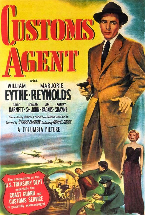 Customs Agent 11x17 Movie Poster (1950)
