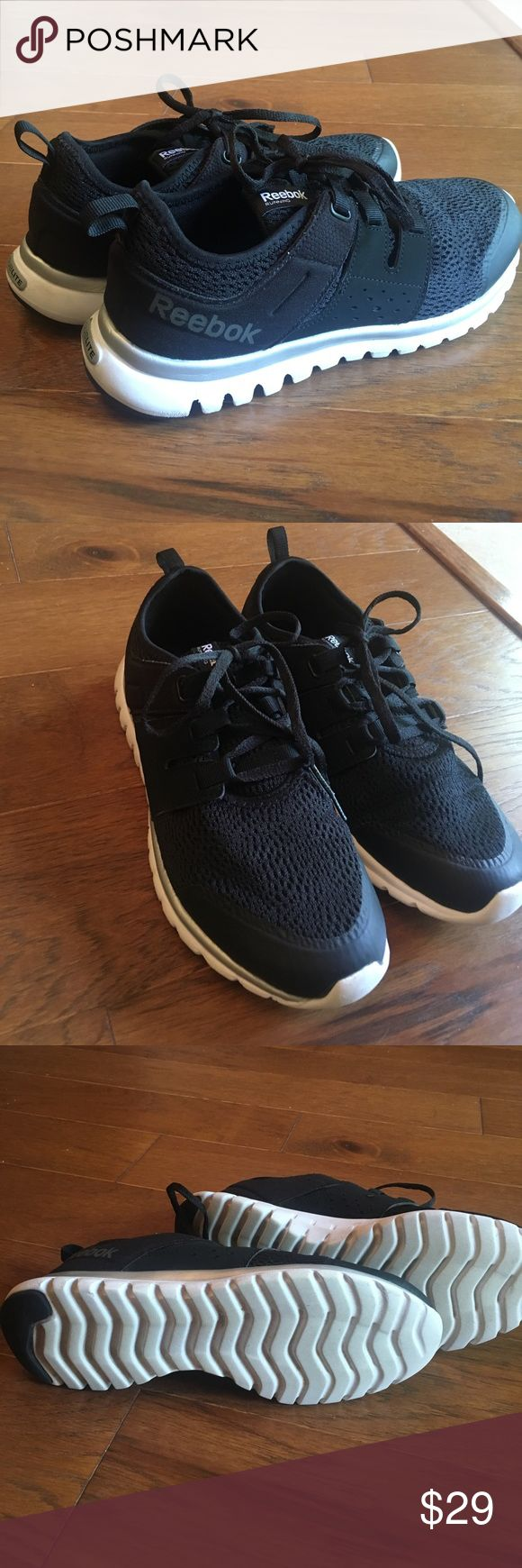 Reebok Sublite Running Shoes with Memory Foam Very good condition, tennis shoes. Great for running and training. Worn a few times, but not much. The sole is a memory foam sole for extra comfort. Reebok Shoes Sneakers