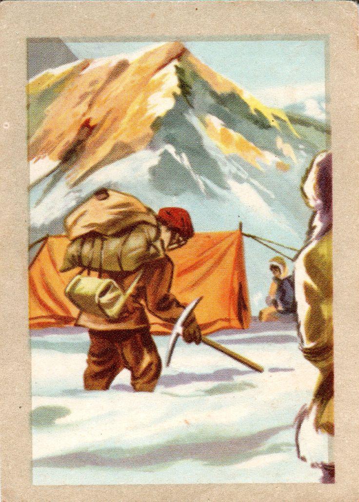 JACQUES SUPERCHOCOLAT - LES METIERS DANGEREUX: L'explorateur (Chromos instructifs - 143)