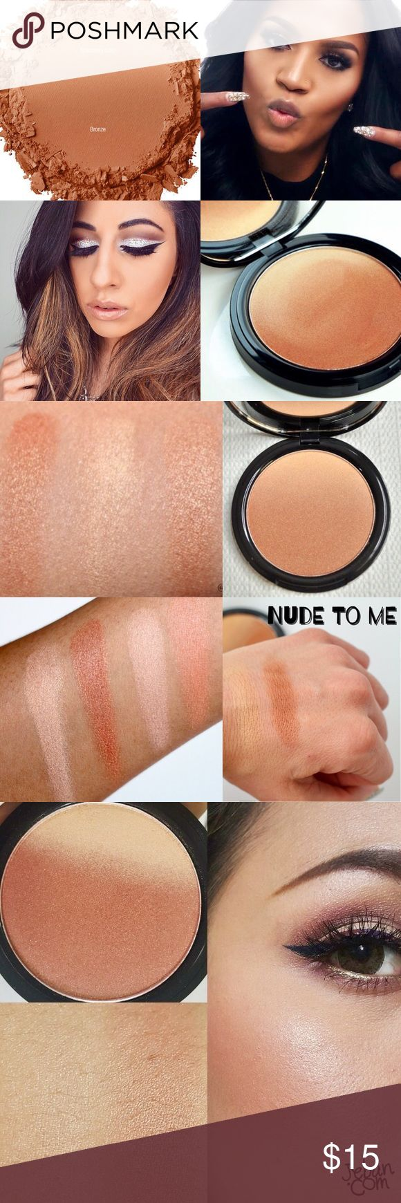 🔅NEW NYX Ombre Blush *Nude To Me*🔅W/GIFTS!🎁😍❤️ 🔅BRAND NEW & UNOPENED🔅NYX OMBRÉ BLUSH IN *NUDE TO ME*🔅Treat ur cheeks to a *radiant* flash of color w/ NYX's NEW Ombré blush, a new gradient blush inspired by the latest ombre trend! This -must have- formula features 2 silky colors blended into one perfectly coordinated shade combo! It's like they were meant for each other!🔅EXPEDITED SHIPPING!!🔅BUNDLE UR FAV 3 ITEMS FOR AN *ADDITIONAL* 15% OFF OR PICK 2 FOR AN *EXTRA* 10%…