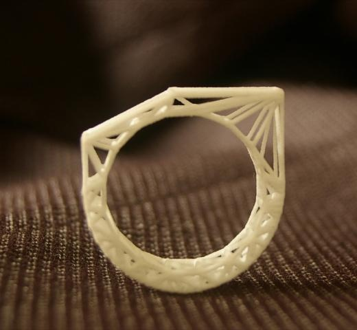 Architectural ring by bitstoatom