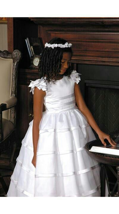 First communion dress: Flower Girls Dresses, First Communion, Holy Communion, Sweetie Pies, First Communion Dresses, Flower Girl Dresses, Couture Dresses, Pies Collection, Organza Skirts