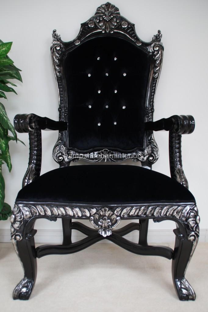 Large Throne Chairs  Hampshire Barn Interiors  Thrones