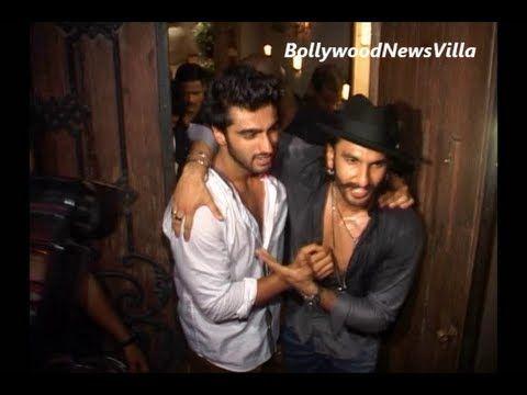 ranveer singh's drunk video at arjun kapoor's birthday party.