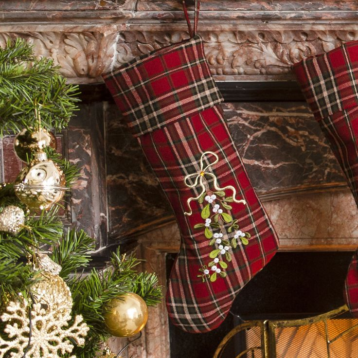 128 best Christmas Stockings, and Holders images on Pinterest ...