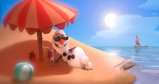 "Watch Olaf's ""Summer Song"" from Frozen"