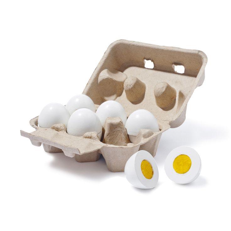 Très réalistes, ces oeufs à ouvrir accompagneront vos enfants dans toutes leurs recettes et compléteront à merveille une cuisinière.
