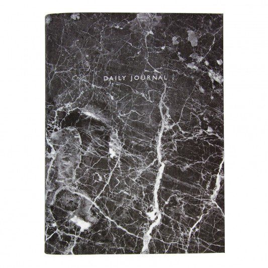 Urban Outfitters Black Marble Daily Journal at http://www.ohhdeer.com