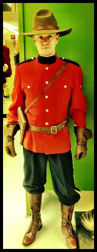 RCMP - What Dario should be wearing for #smbyyc65