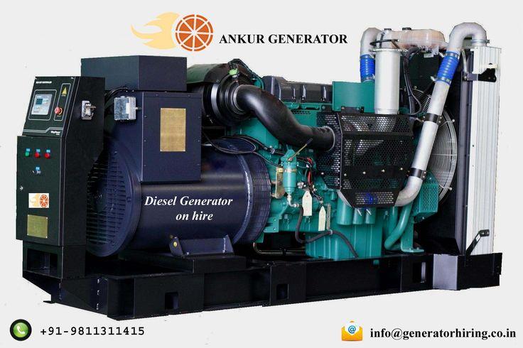 Ankur Generator Diesel Generators on hire generatorhiring.co.in