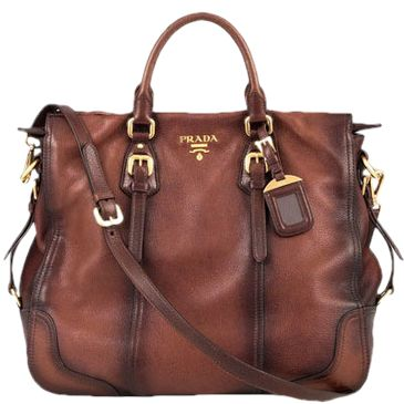 Prada bag - A girl can dream, right?  Actually I would never spend this much on a purse, but I would get a similar purse!