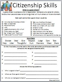Citizenship Skills