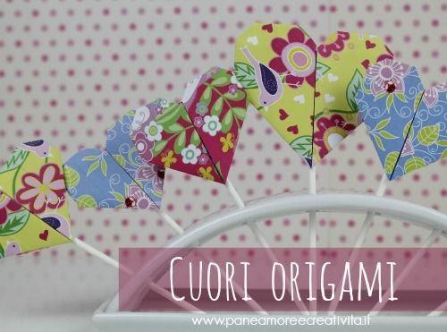 Come fare un cuore origami