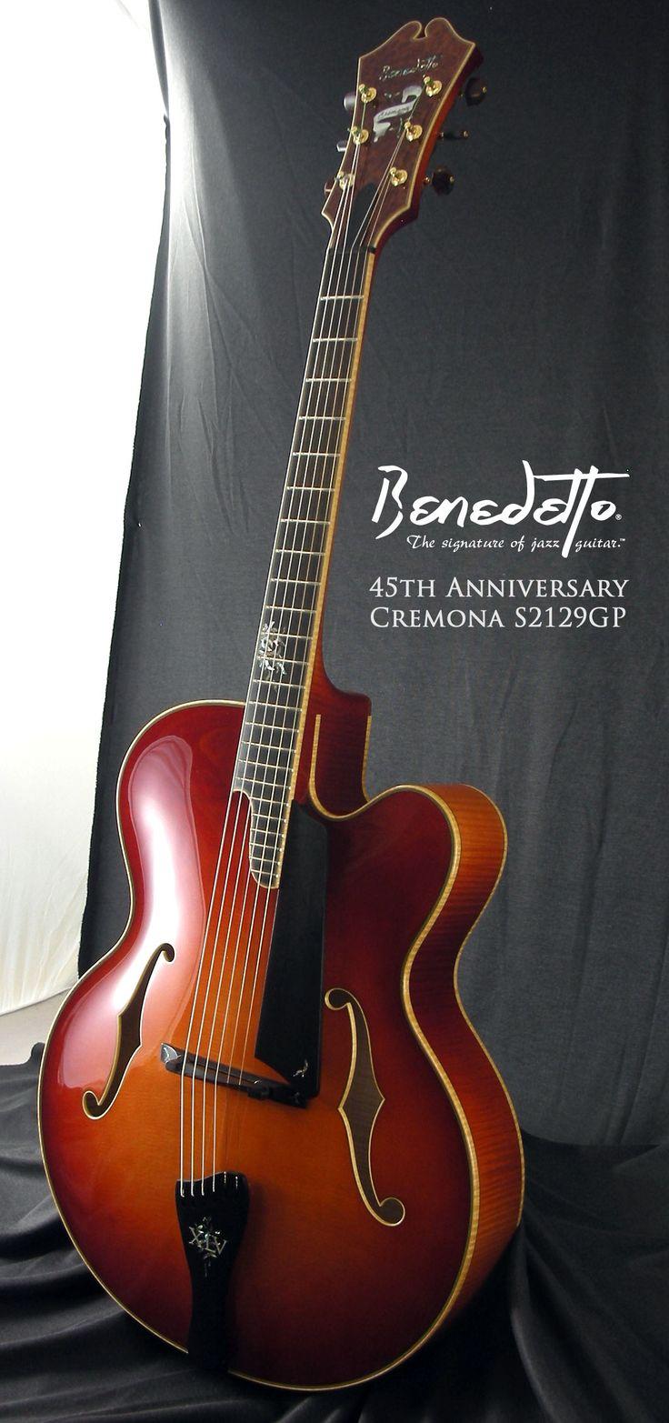 Benedetto 45th Anniversary Cremona archtop jazz guitar - Serial No. S2129GP