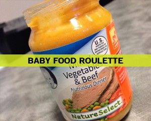 Baby Food Roulette - Fun Ninja Youth Group Games | Fun Ninja Youth Group Games