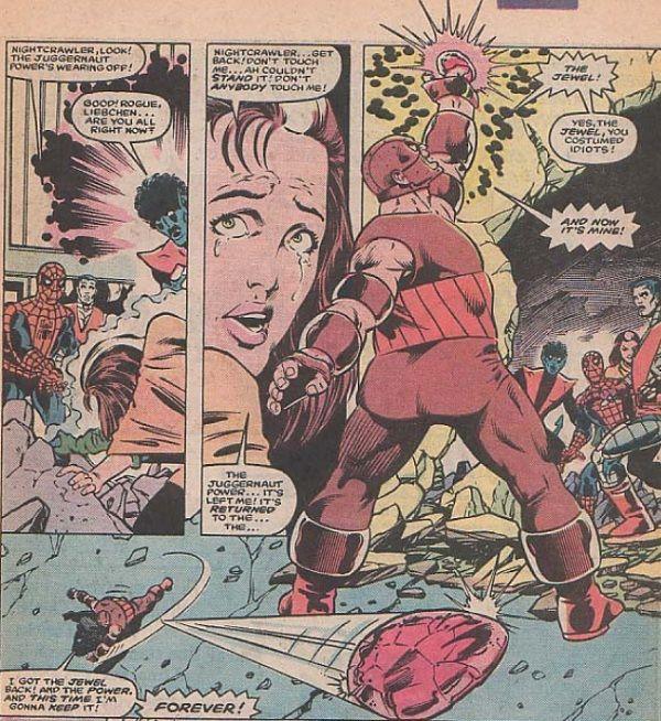Juggernaut Vs The X Men Marvel Team Up Vol 1 150 Marvel Comic Art Comic Book Covers