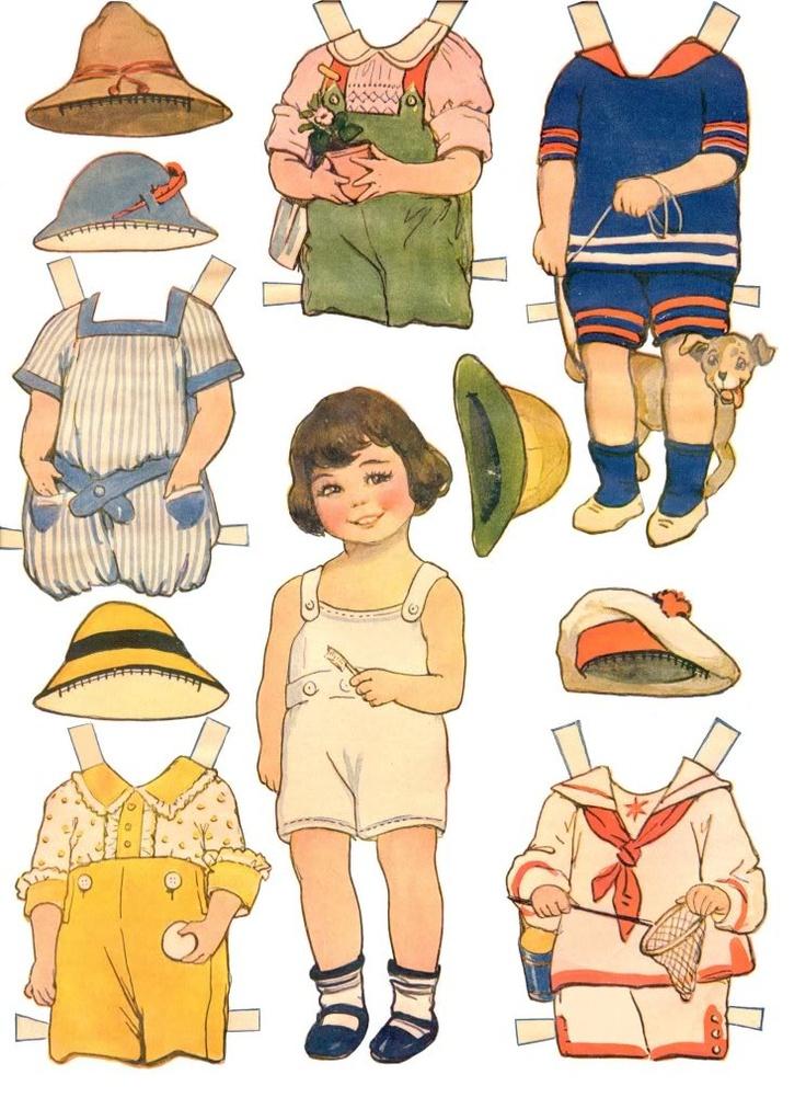 paper dolls - 736×1012
