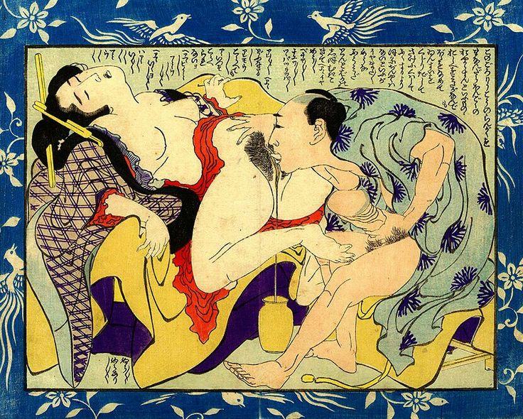 Erotic japanese woodblock — photo 10