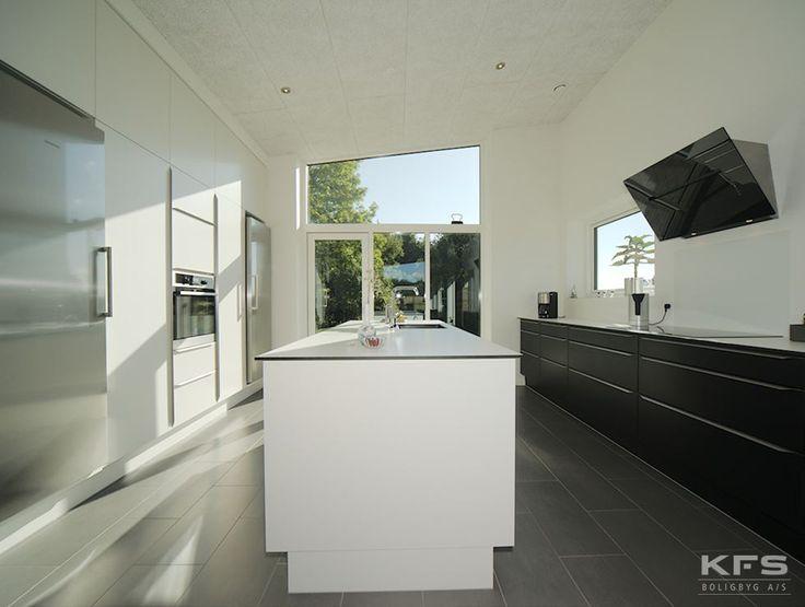 Symmetri, lys og luft. Hvordan skal dit drømme KFS køkken ud?