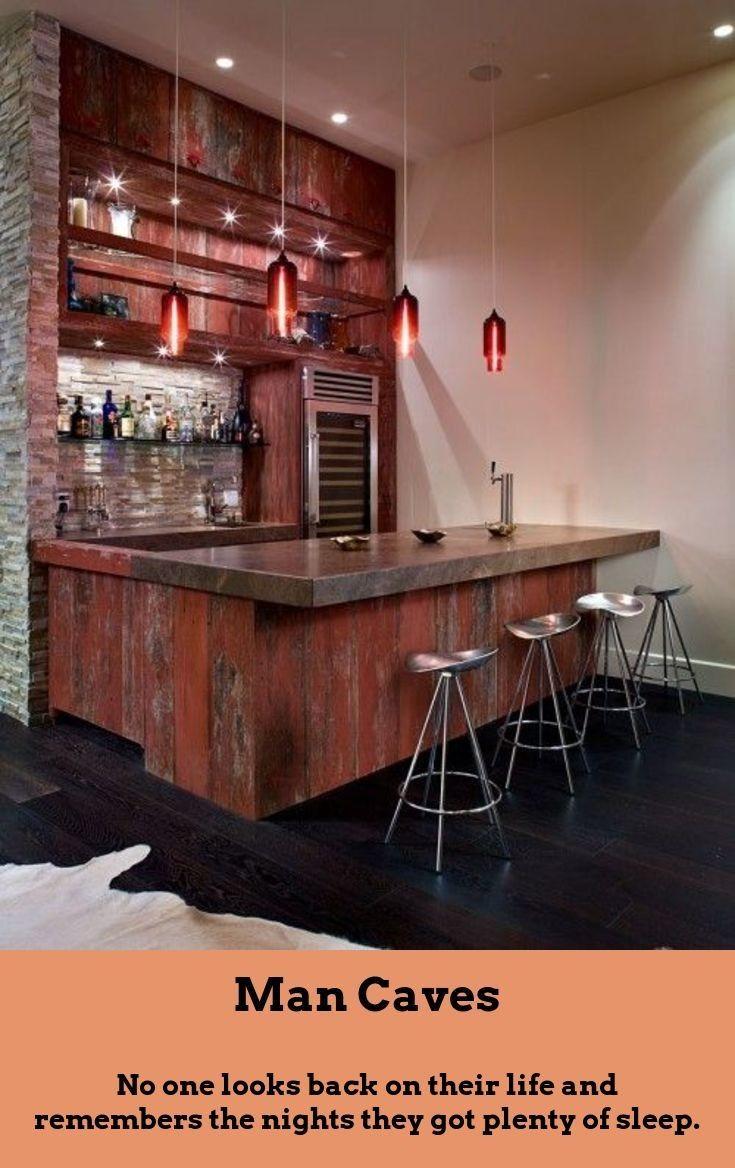 Add a Bar to Your Man Cave   Bar maison moderne, Bar de la salle ...