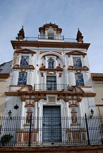 Iglesia de la Caridad  Hospital de la Caridad de Sevilla y su Iglesia de San Jorge. Se encuentra ubicado en el barrio del Arenal, muy próximo a 'La Maestranza'.