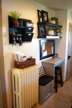 Studio LIME Design: {Home Improvements} Kitchen Message Center