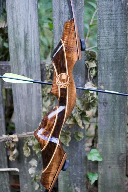 Walnut and Wenge Recurve Bow