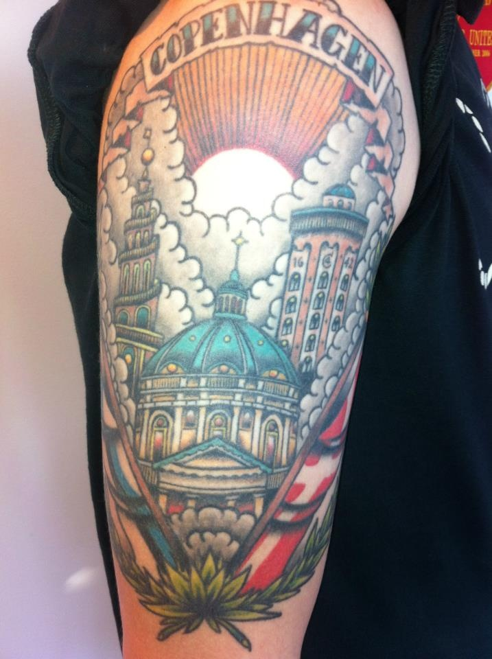 #Copenhagen #FCK #Tattoo