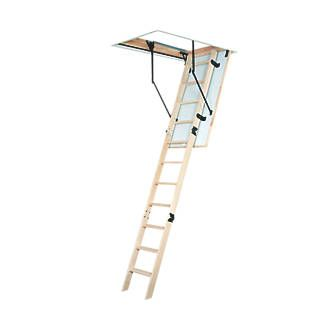 Order online at Screwfix.com. Folding timber loft ladder access kit with insulated loft hatch and unfinished trap door. FREE next day delivery available, free collection in 5 minutes.