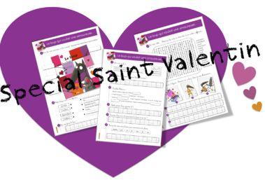 Saint Valentin : Le loup qui cherchait une amoureuse - Bout de gomme
