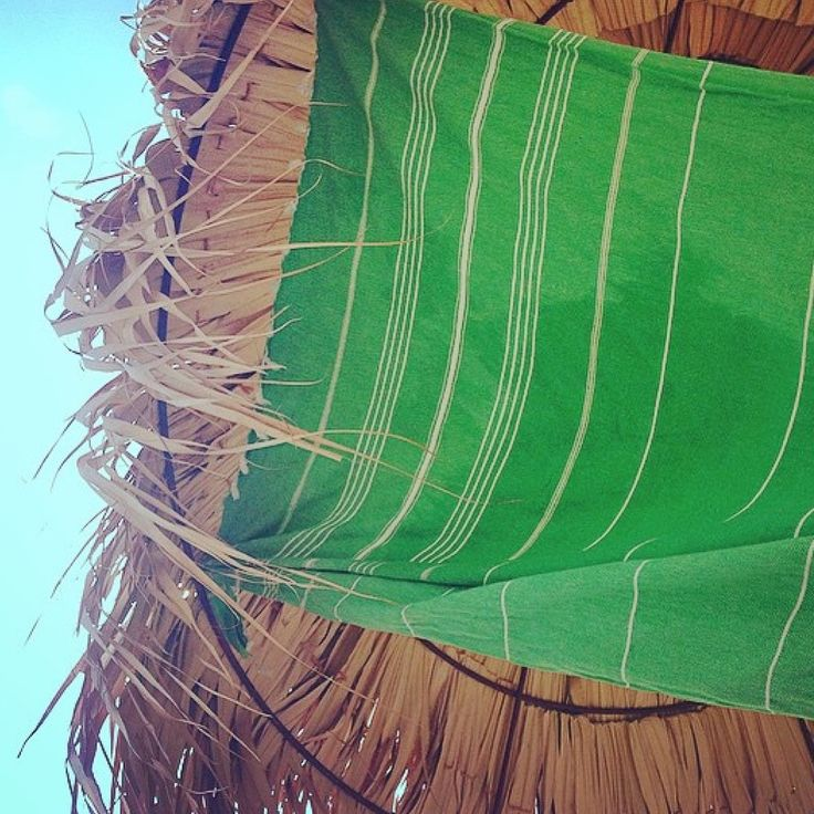 Apple Green Lovepeshtemal Beach towel.