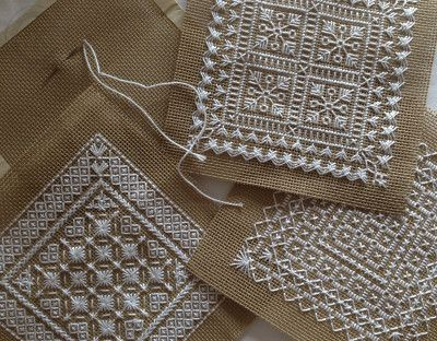 Needlepoint Patterns - Experimental Stitching