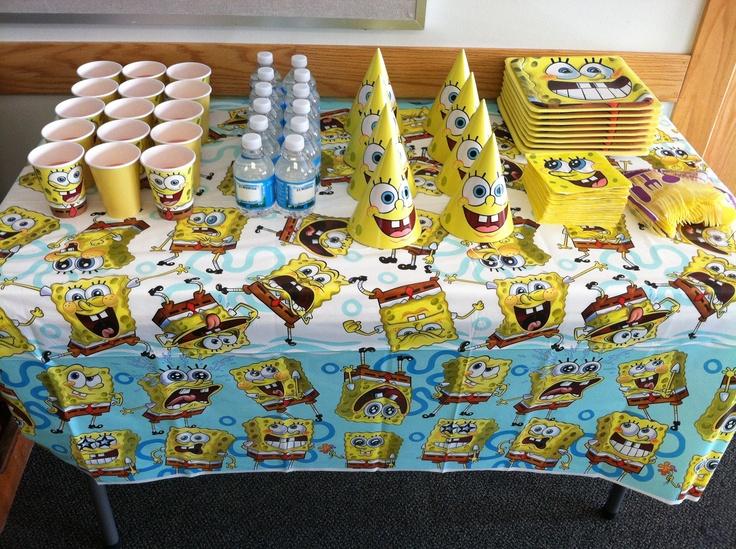 Sponge Bob party theme