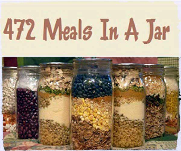 472 Meals In A Jar Recipes