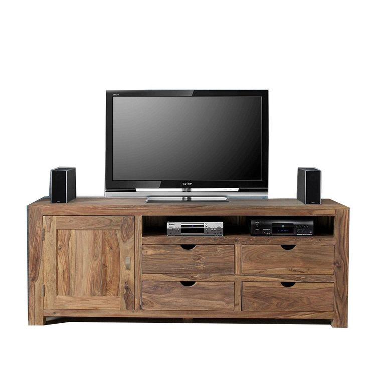 Mobile porta tv legno naturale Mobili etnici prezzi online