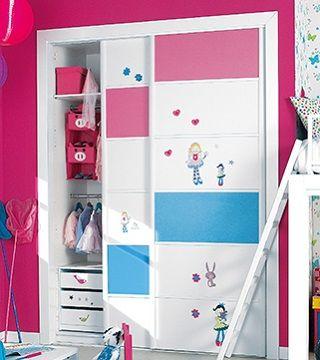 Todo lo que necesitas para tus armarios de puertas correderas lo encuentras en Leroy Merlín, #decoración #deco