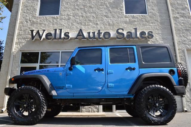 2015 Jeep Wrangler Unlimited, 50 miles, $34,900.